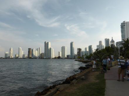 Cartagena Shoreline - Photo Credit: Loren Moss ©2013