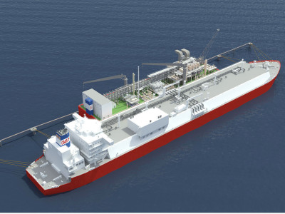 LNG Floating Storage Unit (CNW Group/Pacific Rubiales Energy Corp.)