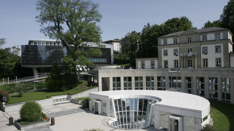 world competitiveness IMD Business School's campus