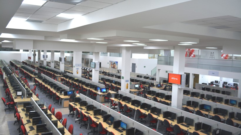 Atento's Tres Nevados Contact Center in Pereira, Risaralda, Colombia