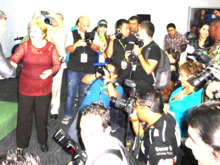 International Journalists at the 2015 Feria de 2 Ruedas in Medellin, Colombia