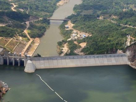 Sogamoso Is Isasgen's Most Recent Hydroelectric Project (Photo courtesy Isagen)