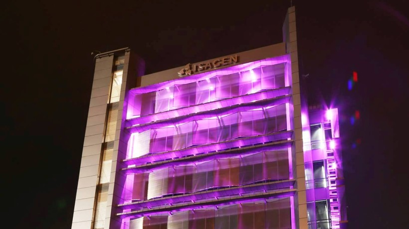 cropped Photo of Isagen building HQ courtesy Isagen
