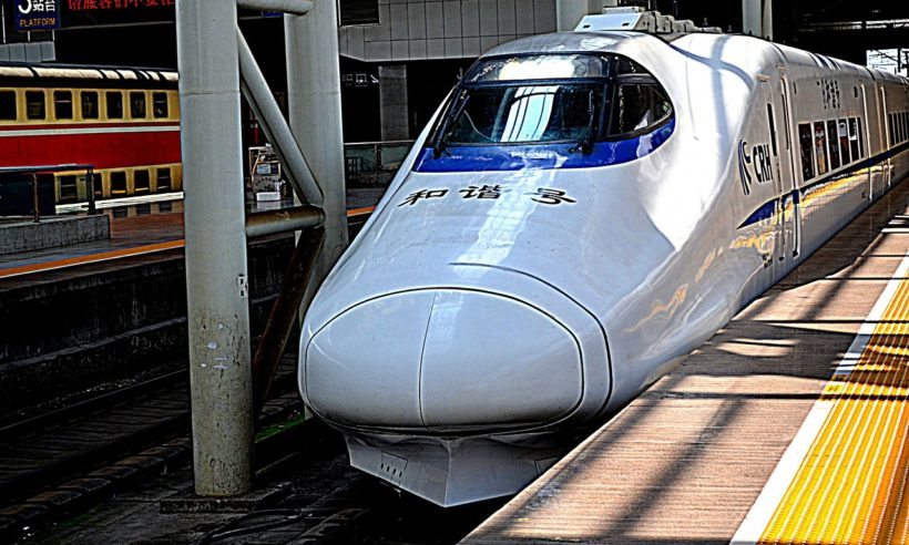 generic asian bullet train courtesy publicdomainpictures - pixabay
