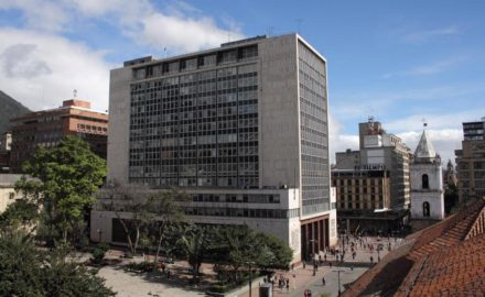 Bogotá headquarters of Banco de la República (Banrepublica). Photo credit Juan Enrique Rodríguez, courtesy Banrepublica