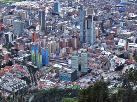 bogota colombia imf growth