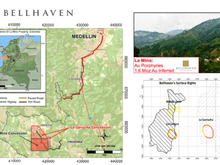 colombia bellhaven copper and gold inc