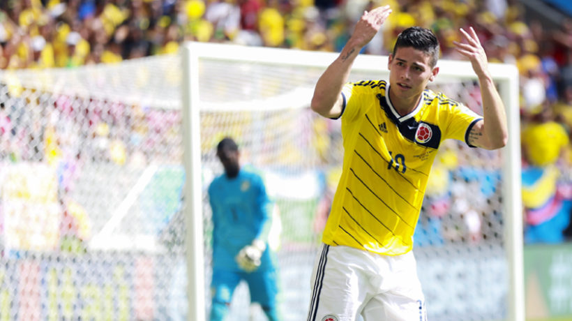 Libertex James Rodriguez Colombian jersey national team colombia