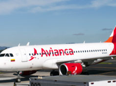 Avianca Airbus A319 plus boston to bogota el dorado logan