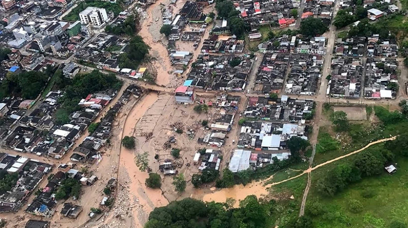 mocoa colombia disaster flood mudslide landslide tragedy catastrophe mocoa