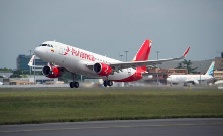 Avianca Airbus A320 plus Colombia (Credit: Avianca)