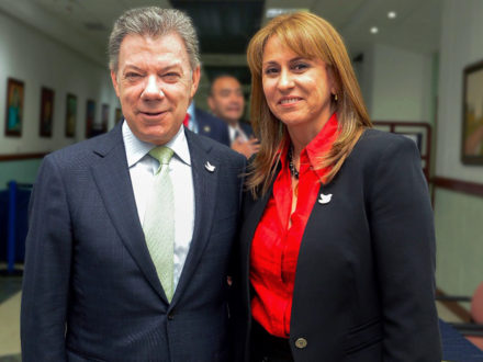 Griselda Janeth Restrepo colombia minister of labor ministry juan manuel santos