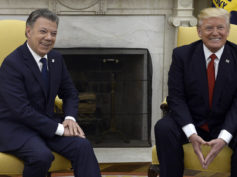 juan manuel santos donald trump plan colombian coca eradication peace colombia farc