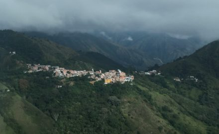 The town of Buriticá in Antioquia has been the location of both legal and illegal mining. (Credit: Loren Moss)