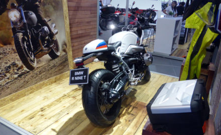BMW Rothar Bogota Colombia Motorcycle One of the BMW motorcycles on display at the 2017 Feria de las Dos Rueda in Medellín. (Credit: Loren Moss)