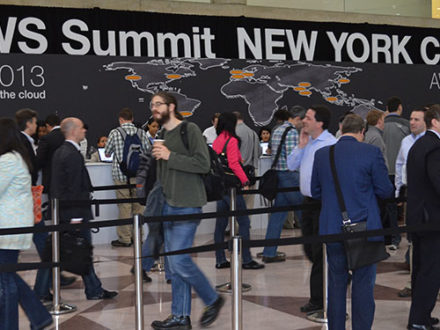 AWS Summit 2013 in New York at the Javits Convention Center. (Photo Credit: Raysonho @ Open Grid Scheduler / Grid Engine)