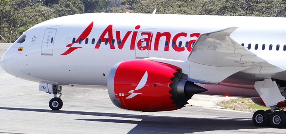 Photo: An Avianca 787 on the tarmac at José María Córdova International Airport near Medellín in Colombia. (Credit: Avianca)