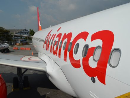 An Airbus A320neo operated by Avianca. (Credit: Avianca)