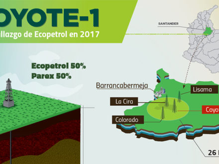 Ecopetrol Coyote-1 Well in Santander. (Credit: Ecopetrol)