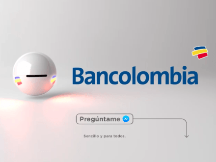 The new Bancolombia chatbot Tabot is part of the Colombian bank's ongoing digital transformation effort.