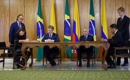 Colombia, Brazil Agree to Small Measures to Smooth Cross-Border Trade (Photo credit: Colombian Ministerio de Comercio Industria Y Turismo)