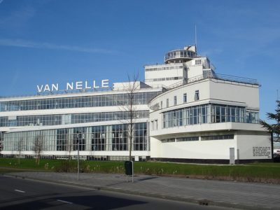 Photo: Sana Commerce's headquarters in Rotterdam, Netherlands, at the Van Nelle Factory. (Photo credit: F.Eveleens)