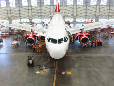 AV MRO (Photo credit: Avianca)