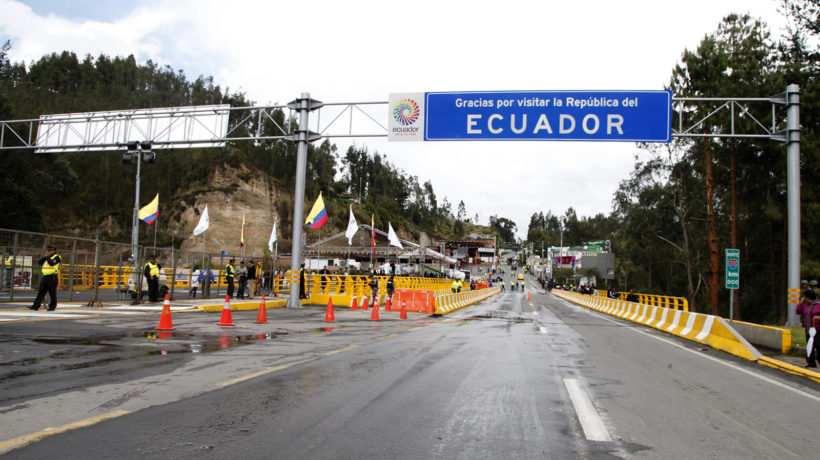 In 2013, Colombia opened a new Rumichaca bridge on the border of Ecuador, a route that will be improved by a new highway that includes funding from OPIC. (Photo credit: Xavier Granja Cedeño - Cancillería Ecuador)
