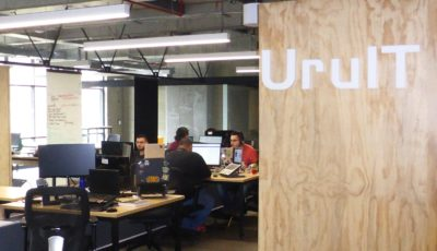 UruIT office in Medellín, Colombia. (Photo credit: Loren Moss)
