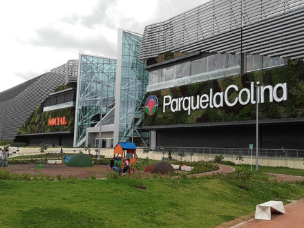 Parque La Colina mall in Bogotá, Colombia. (Photo credit: EEIM)