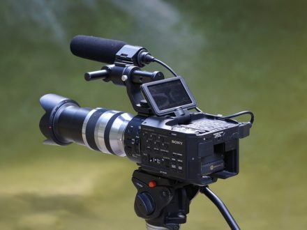 Video camera, audiovisual equipment, TecnoMultimedia InfoComm (Photo credit: JosepMonter / Pixabay)