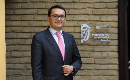 Carlos Ruiz is the new vice-minister for housing in Minvivienda