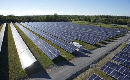 Invenergy Woodville Solar Farm, photo courtesy Invenergy