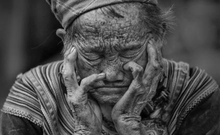 old elderly woman
