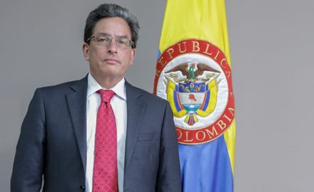 Colombia's finance minister, Dr. Alberto Carrasquilla