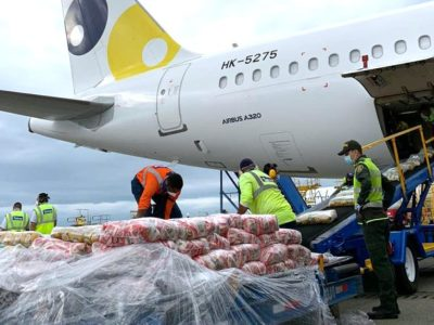 Colombian airline Viva Air is now carrying humanitarian aid in empty passenger seats as well as cargo holds of its aircraft to supply food and school supplies to famine-stricken La Guajira, Colombia