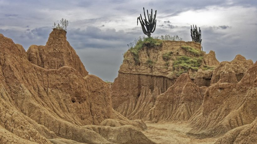 Colombia's Tatacoa Desert image by Makalu from Pixabay
