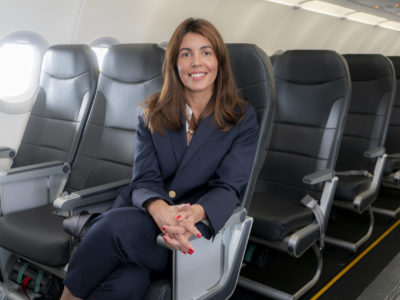 Lisa Mota Pinto is commercial vice president of the Viva Air Group.