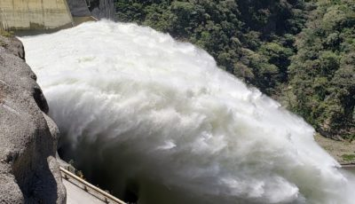 Hidroituango spillway photo courtesy EPM