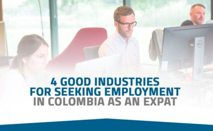 4 good jobs for explats in Colombia