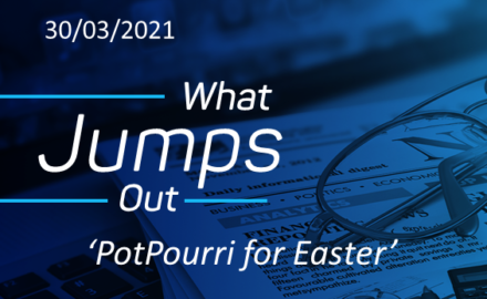 What Jumps Out, Easter 2021