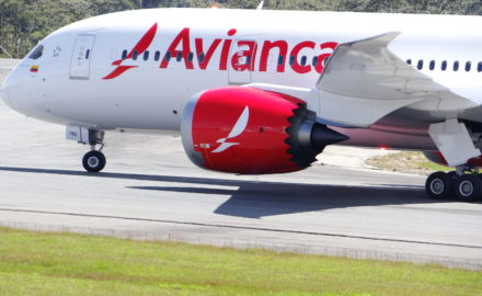 Avianca 787 united airlines