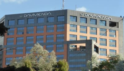 Davivienda's Bogotá headquarters. Photo credit: Loren Moss