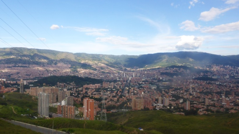 Medellin as viewed from San Javier. Photo credit: Loren Moss